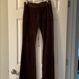 Juicy couture track pants size P